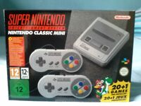 NINTENDO SNES CLASSIC MINI - BRAND NEW/UNOPENED