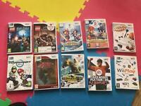 Nintendo Wii Games Zelda Mario Kart lego