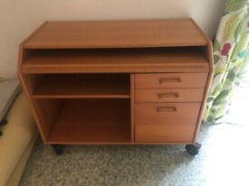 A very useful desk in good condition.