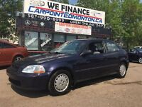 1997 Honda Civic CX-G AUTO ONLY 185913 KMS