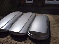 Thule roof box for hire