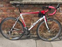 Trek aluminium road bike