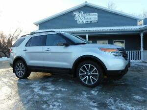 2015 Ford Explorer LEATHER/NAV/3RD ROW/81KM!