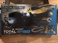 Scalextric Total Speed. Jaguar vs McLaren.
