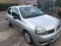 Renault clio campus 1.1 petrol 57-plate! Mot december! 85,000 miles with history plus 2x keys! £695!