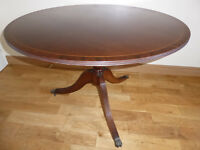 Dining Table, big, round shape