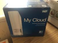 wd my cloud 2tb storage