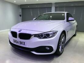 BMW 4 SERIES 2.0 420I SPORT 2d 181 BHP FREE DELIVERY TO YOUR DOOR (white) 2015