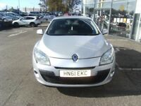 2011 61 RENAULT MEGANE 1.6 DYNAMIQUE TOMTOM VVT 5D 110 BHP **** GUARANTEED FINANCE **** P/EX WELCOME
