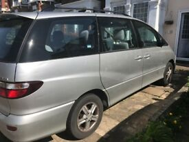 Toyota Previa 7 Seater Automatic Petrol with suspect Head Gasket Problem