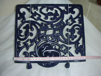 CAST IRON COOKERY BOOK STAND.