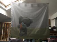 Nursery or children's curtains