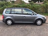 2003 Volkswagen Touran 1.6 FSI S MPV 5dr (7 Seats) Manual @07445775115@
