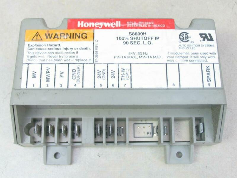 Honeywell S8600H Pool/Spa Furnace Ignition Control Module S8600H1055