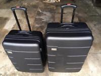 2x Firetrap Hard Suitcases