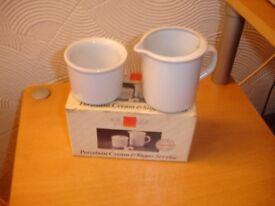 Cream & Sugar Bowls Brand New in Box