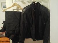 Hein Gericke female motorbike jacket and trousers excellent condition