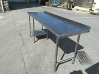 Cheap Professional Stainless Steel Tables Restaurant & Catering Equipment