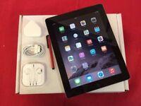 Apple iPad 2 32GB WiFi + Cellular, Black, Unlocked, + WARRANTY, NO OFFERS