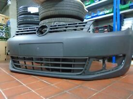 VW Caddy front bumper NEW - minor scuffs