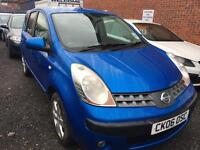 NISSAN NOTE 1.4L AUTOMATICALLY