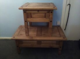 6 wooden tables for sale.no reasonable offer accepted