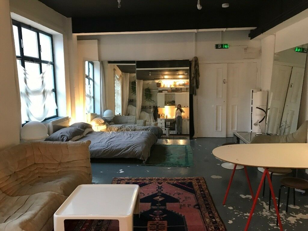 Amazing 1 Bed Warehouse Apartment Central London Fields All Bills Inc
