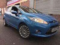 Ford Fiesta 2010 1.6 TDCi Titanium 5 door, 1 OWNER, FSH, 6 MONTH WARRANTY, £20 ROAD TAX, BARGAIN
