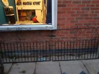 Excellent condition iron wrought gates