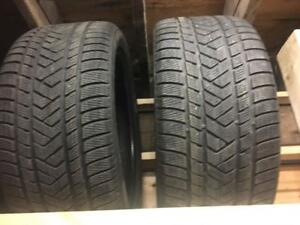 """21"""" Mercedes-Benz GL used snow tires 295/40R21"""