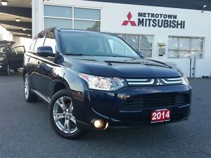 2014 Mitsubishi Outlander SE TOURING; CERTIFIED PRE-OWNED!