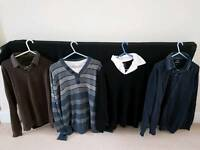 Men's shirt and tops 12 pieces