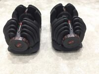 Bowflex 4-41Kg Select Dumbbells (Pair) 17 dumbbells in one