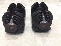 Bowflex 4-41Kg Select Dumbbells (Pair) 17 dumbbells in one
