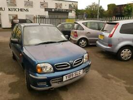 NISSAN MICRA. AUTOMATIC. 1 LITRE PETROL. IDEAL FIRST CAR. PX WELCOME