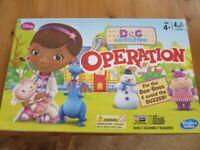 Hasbro Disney Doc McStuffins Operation Childrens Classic Board Game