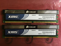 Corsair DDR2 PC2-8500 1066MHz CM2X2048-8500C5C RAM
