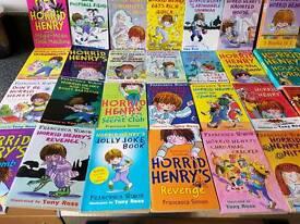 Over 30 Horrid Henry Books