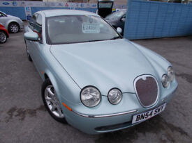 STUNNING DIESEL S TYPE JAG DRIVES A1 NEW MOT FULL SERVICE TIMING BELT WARRANTY