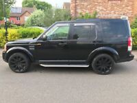 Land Rover 3 with a convertion to a 4