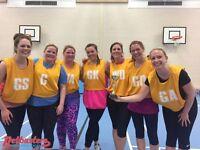 Intermediate level netball league in Clapham South