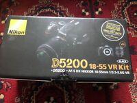 Nikon D5200 18-55, 70-300 VR Kit