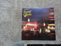 Vinyl collection of Sound Effects