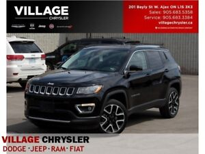 2017 Jeep Compass Limited|4x4|Nav|Leather|Sunroof|Remote