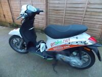 Piaggio Liberty 50cc,2stroke,2011,White,1 owner,2400miles,*SPARES/REPAIR, ANY INSPECTION
