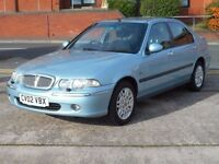 02 ROVER 45 1.6 CLUB + 88K + LONG MOT + CLEAN CAR