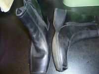 Clarks ladies boots size 4