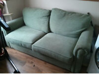 Fabric 3 Seater Sofa Bed