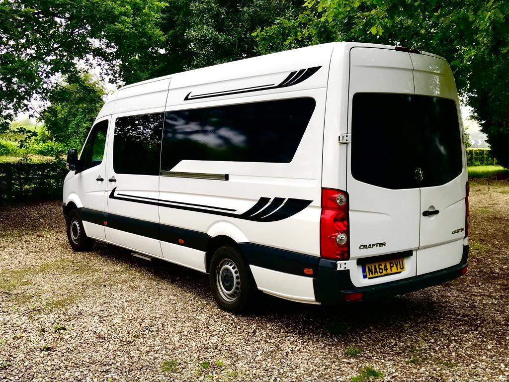 vw crafter camper van in sheringham norfolk gumtree. Black Bedroom Furniture Sets. Home Design Ideas