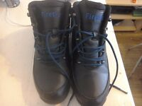 A pair of firetrap boots size 8black worn 4times